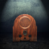 Old vintage radio — Stock Photo