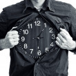 Stock Photo: Time is running out