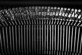 Vintage typewriter detail — Stock Photo