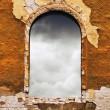 Old window — Stock Photo #27793389