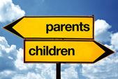 Parents or children — Stock Photo
