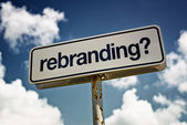 Rebranding — Stock Photo