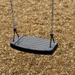 Playground swing — Stock fotografie