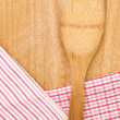 Wooden kitchen utensil — Stock Photo