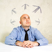 Business choice or making decisions — Stock Photo
