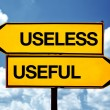 Stock Photo: Useless or useful