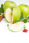 Green apples — Foto Stock