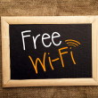 Free WiFi — Stock Photo