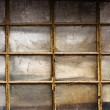Stock Photo: Old shed window