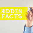 Hidden facts — Stock Photo
