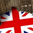 Great Britain flag — Stock Photo #34857931