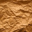 Crumpled paper texture — Stock Photo