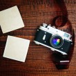 Retro style camera — Stockfoto