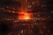 кибер-пространстве — Стоковое фото