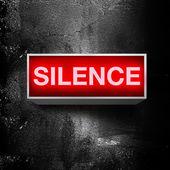 Silence please — Stock Photo