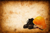 Safety equipment for construction industry — Stock Photo