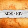 Hiv Aids — Stock Photo