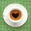 Love coffee cup — Stock Photo #37290229