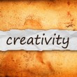 Creativity title on piece of paper — Stock Photo #37741469