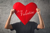 Be my Valentine, Valentines day concept. — Stock Photo