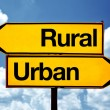 Rural or urban — Stock Photo #38561363