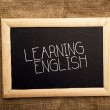 Stock Photo: Learning english