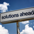 Stock Photo: Solutions ahead