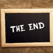 The end — Stock Photo #39542951