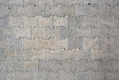 Brick pavement tile — Stock Photo