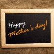Stock Photo: Happy mothers day