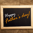 Happy fathers day — Stock Photo #41082757