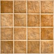 Beige mosaic ceramic tiles for wall or floor. — Stock Photo