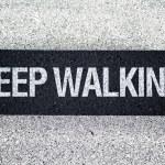Keep walking on Pedestrian crossing — Stock Photo #41545441