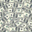 Stock Photo: Hundred dollar bills as background