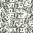 Hundred dollar bills as background — Stock Photo #41995987