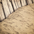 Stock Photo: Vintage wooden fence