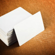Business cards with rounded corners — Stock Photo #43236519