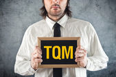 Total Quality Management consultant — Stock Photo