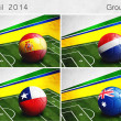 Brazil 2014, Group B — Stock Photo #45034979
