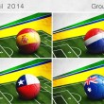 Brazil 2014, Group B — Stock Photo #45034979