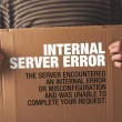 Http Error 500, Server error page concept — Stock Photo #45785207