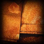 Zkorodované kovové textura — Stock fotografie