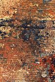 受腐蚀的金属质感 — 图库照片