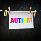 Autism printed on paper — Stock Photo