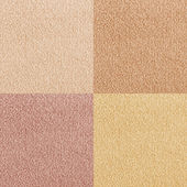 New carpet texture samples — Stock Photo