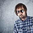 Unshaven man with sunglasses — Stock Photo #49511769
