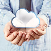 Cloud computing service — Stock Photo