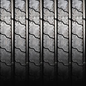 Car tire texture close up — Stock fotografie