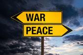 War or Peace — Stock Photo