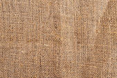 Light natural burlap texture — Stockfoto